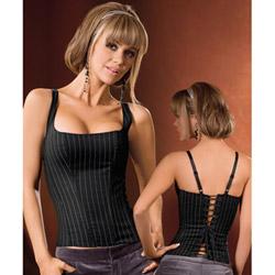 Apprentice side-zip corset