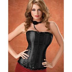 Jazzy satin corset