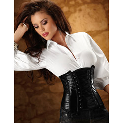 Side-zip waist cincher