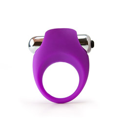 Penis ring with removable bullet - His and hers vibrating love ring - view #2