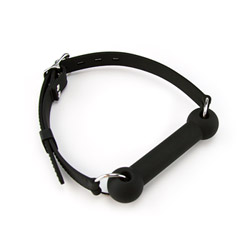 Silicone bone gag - headgear