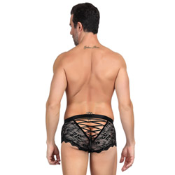 Lace male briefs