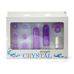 Vibrator kit for couples - Crystal magic - view #3