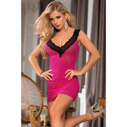 Spice shirred dress - chemise