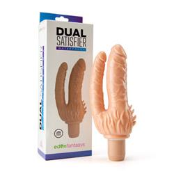 Realistic double penetration vibrator - Dual satisfier - view #7