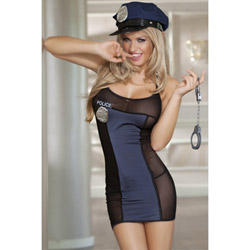 Naughty cop - sexy costume