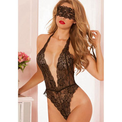 Mystery lace teddy