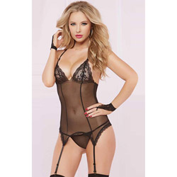 Darling cami garter - bustier and panty set