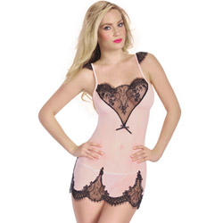 Tender passion chemise set - chemise and panty set