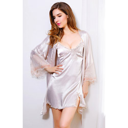 Satin delights - chemise