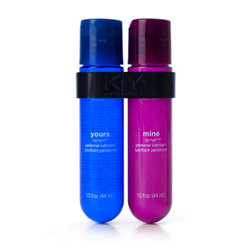 K-Y yours and mine couples lubricant