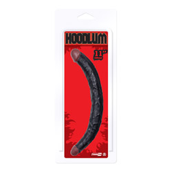 Double ended dildo - Hoodlum realistic double dong - view #2
