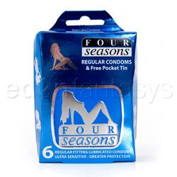 Male condom - Four seasons regular - view #5