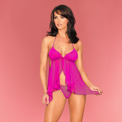 Loungerie babydoll - babydoll and panty set