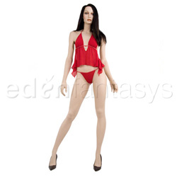 Big hearted camisole and g-string - Camisole set