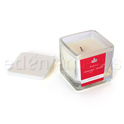 Amorous massage candle