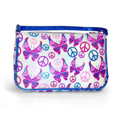 Storage container - Peace butterfly purse - view #1
