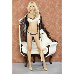 Nude affair lingerie set - bra and panty set