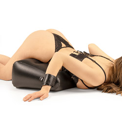 Dark magic inflatable position pillow