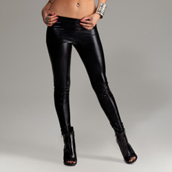 Menton black leggings