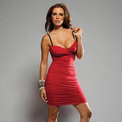 Studded mini dress
