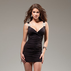 Black Novak mini dress