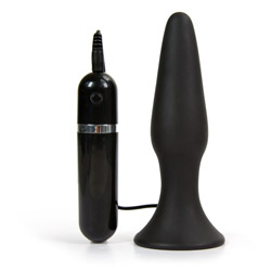 Eden vibrating silicone anal plug - sex toy