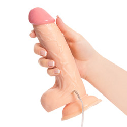 Realistic vibrator with suction cup - Rowdy vibrating realistic dildo - view #2