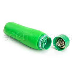 Traditional vibrator - Green dolphin - view #6
