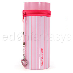 Striped pleasure can - storage container
