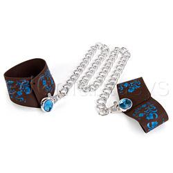 Wrist cuffs - Hippy handcuffs - view #1