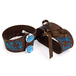 Wrist cuffs - Hippy handcuffs - view #2