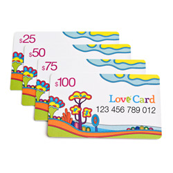 Gift Card - miscellaneous