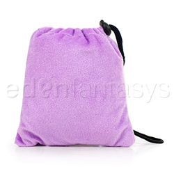 Purple padded pouch - storage container