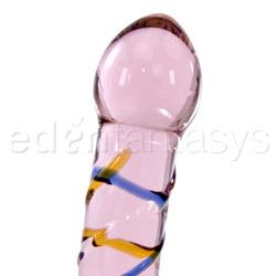 G-spot dildo - Rainbow swirl dildo - view #2