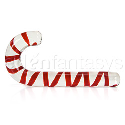 Glass wands - The candy cane - view #2
