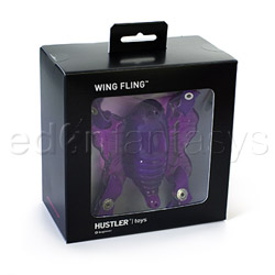 Strap-on vibrator - Wing fling - view #4