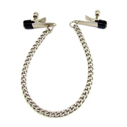 Alligator clamps - H2H nipple clamps with chain - view #1