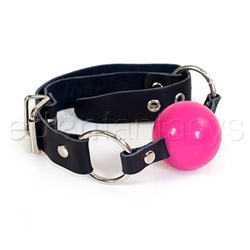 Sex kitten ball gag - headgear
