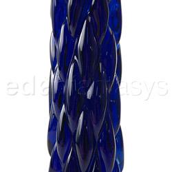 Glass G-spot shaft - Crystal cut G-spot - view #3
