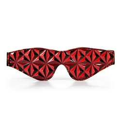 Blindfold - Luxury fetish passionate no peeking eye mask - view #2