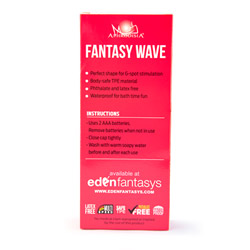 Flexible G-spot vibrator - Fantasy wave - view #4