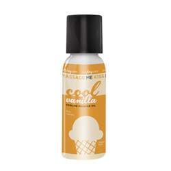 Oil - Massage kissable oil cooling vanilla - view #1