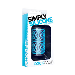Cock ring - Simply silicone cock cage - view #2