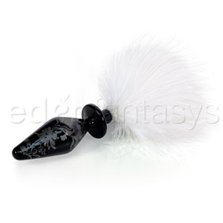 Fashionistas small bunny tail butt plug