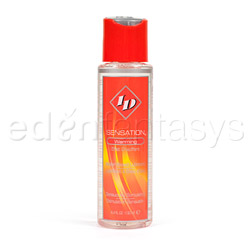ID sensation warming liquid - lubricant
