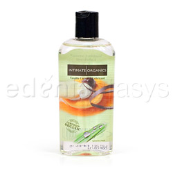 Flavored lubricant - water based lube