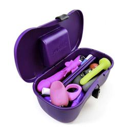 Storage container - Joyboxx hygienic sex toy storage system - view #1
