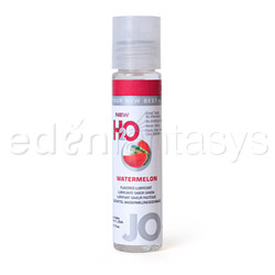 JO H2O flavored lubricant 1oz - water based lube