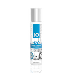 JO H2O lubricant - water based lube
